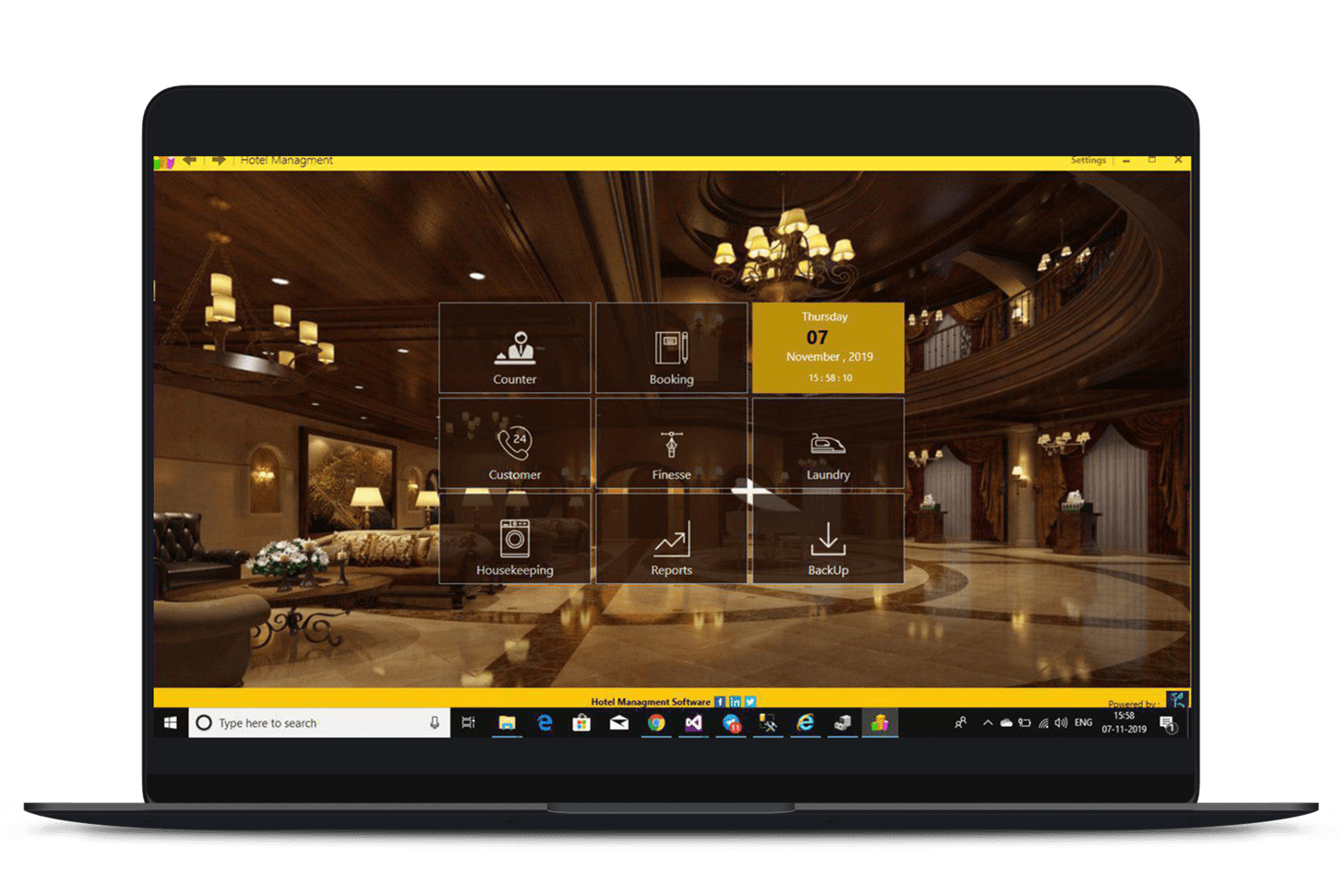 Brillsense Hotel Management Software